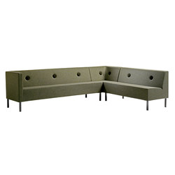 Stereo sofa | Canapés d'attente | Mitab