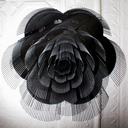 Rose - 700 - ceiling mounted | option straight/looped | Deckenlüster | Willowlamp