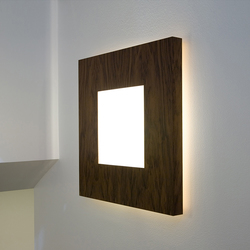 O Size Walnut | Wall lights | Embacco Lighting