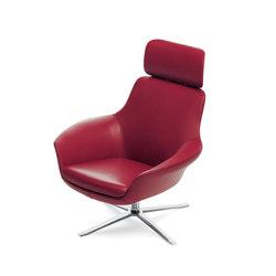 Oscar 221 armchair | Lounge chairs | Walter Knoll