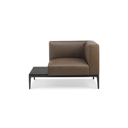 Jaan Living armchair | Sillones lounge | Walter Knoll