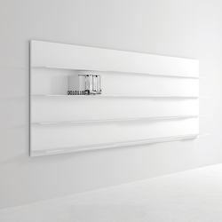 Wave wall system | Shelves | MDF Italia