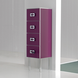 Fussion Vagues Bordeaux | Wall cabinets | FIORA