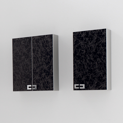 Fussion Clouds Black | Wall cabinets | FIORA