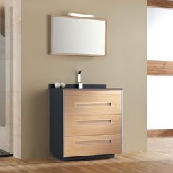 Colors Pine Beech | Vanity units | FIORA
