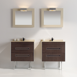Colors Leather Wenge | Vanity units | FIORA