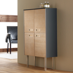 Colors Pine Beech | Wall cabinets | FIORA