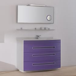 Colors Lignes Lilas | Meubles lavabos | FIORA