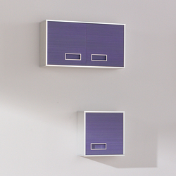 Colors Lines Lilac | Wall cabinets | FIORA