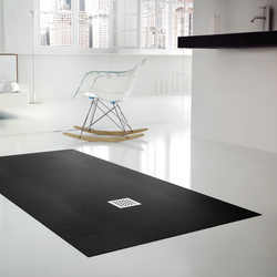 Extraplano Negro | Shower trays | FIORA