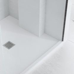 Enmarcado a Medida Blanco Roto | Bacs à douche | FIORA