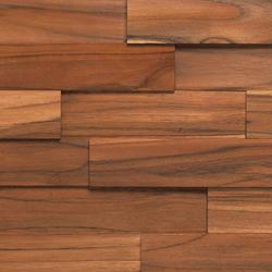 Teca Natura | Mosaicos de madera | Dune Cerámica