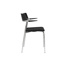 Cirkum Stuhl mit Armlehnen | Visitors chairs / Side chairs | Randers+Radius