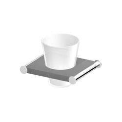 Isy ZAC313.E1 | Toothbrush holders | Zucchetti