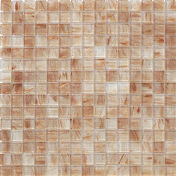 Aurore 20x20 Beige | Glas Mosaike | Mosaico+