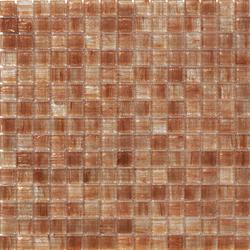 Aurore 20x20 Salmone | Mosaïques en verre | Mosaico+