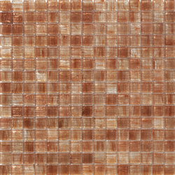 Aurore 20x20 Salmone | Glass mosaics | Mosaico+