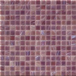Aurore 20x20 Pervinca | Glass mosaics | Mosaico+