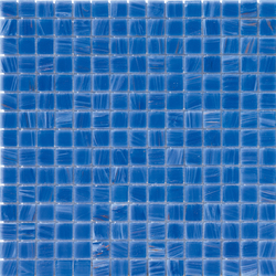 Aurore 20x20 Azzurro | Glas Mosaike | Mosaico+