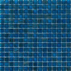 Aurore 20x20 Petrolio | Mosaïques verre | Mosaico+