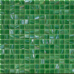Aurore 20x20 Verde M. | Glas Mosaike | Mosaico+