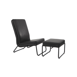 Fancy Easy Chair with Ottoman | Sillones lounge | STILTREU