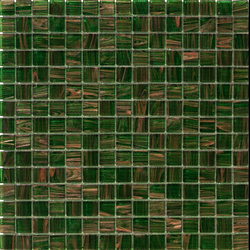 Aurore 20x20 Verde S. | Glas Mosaike | Mosaico+