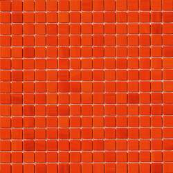 Aurore 20x20 Arancio | Mosaïques en verre | Mosaico+