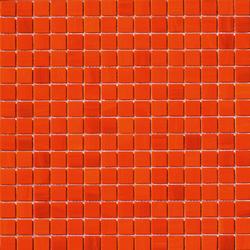 Aurore 20x20 Arancio | Glass mosaics | Mosaico+