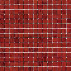 Aurore 20x20 Amaranto | Mosaïques verre | Mosaico+
