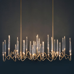 Chandeliers high quality designer chandeliers architonic il pezzo 3 chandelier ceiling suspended chandeliers il pezzo mancante aloadofball Choice Image