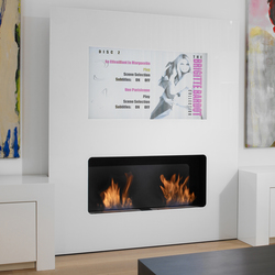 Double Vision | Ventless ethanol fires | Safretti
