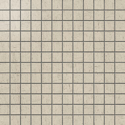 Magma Crema Satin Polished SK Mosaic B | Mosaike | INALCO