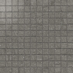 Magma Gris Satin Polished SK Mosaic B | Mosaïques | INALCO