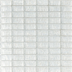Onde 23x48 Biancopuro R | Glas-Mosaike | Mosaico+