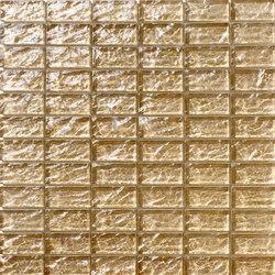 Onde 23x48 Tortora R | Glass mosaics | Mosaico+