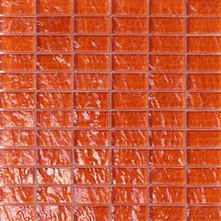 Onde 23x48 Arancio R | Mosaïques verre | Mosaico+