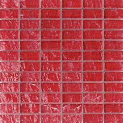 Onde 23x48 Rosso R | Mosaics | Mosaico+