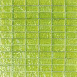 Onde 23x48 Verde R | Mosaïques verre | Mosaico+
