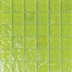 Onde 48x48 Verde Q | Glass mosaics | Mosaico+