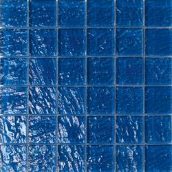 Onde 48x48 Blu Q | Glass mosaics | Mosaico+