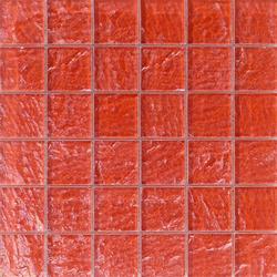 Onde 48x48 Rosso Q | Mosaicos de vidrio | Mosaico+