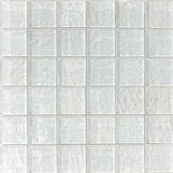 Onde 48x48 Biancopuro Q | Mosaicos de vidrio | Mosaico+