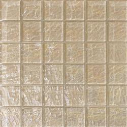 Onde 48x48 Tortora Q | Glas Mosaike | Mosaico+