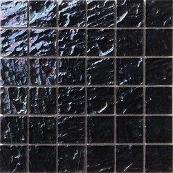 Onde 48x48 Antracite Q | Mosaïques verre | Mosaico+