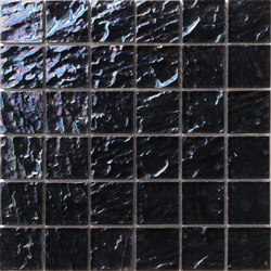 Onde 48x48 Antracite Q | Mosaïques | Mosaico+