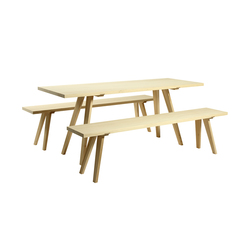 Outdoor furniture | Tables et bancs de jardin | GEORG BECHTER LICHT