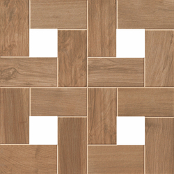 Etic Noce Cassettone | Floor tiles | Atlas Concorde