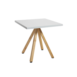 Robinia avec table Classic | Tables de cafétéria | nanoo by faserplast