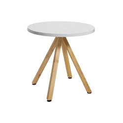 Robinia with tabletop Classic | Mesas para cafeterías | nanoo by faserplast